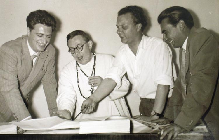 Onofrio Bramante nel 1957 a Roma.
