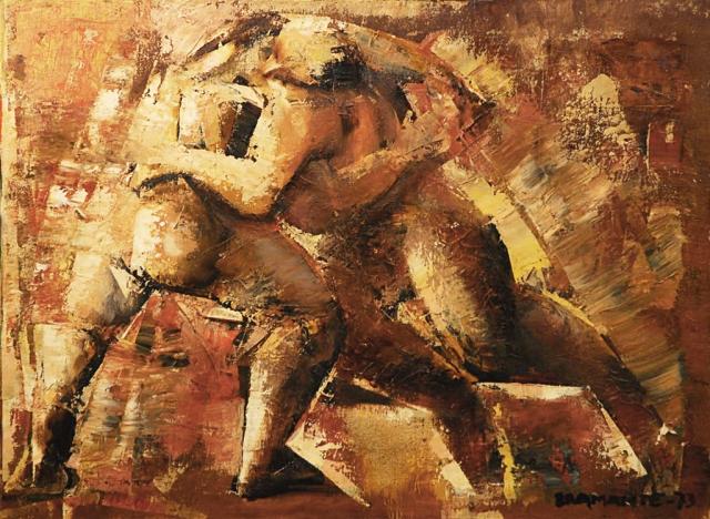 onofrio-bramante-lottatori1973