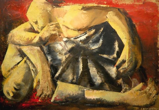 onofrio-bramante-morte-di-cesare-1972