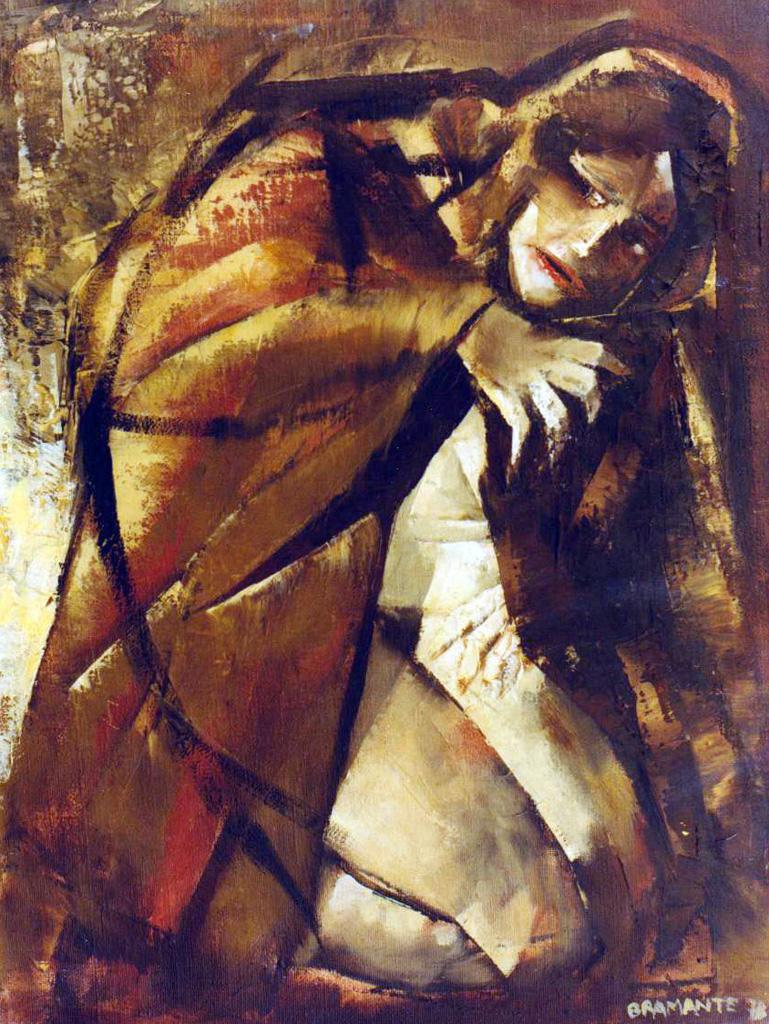 Olio su tela, 60 x 80 cm., 1978 - Arhivio Bramante, Milano.