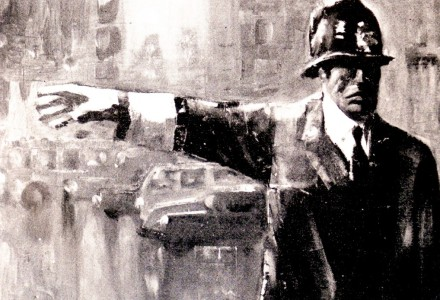 """""""Il Ghisa"""" - Olio su tela, 100 x 70 cm. Anno 1974 - Collezione privata"""